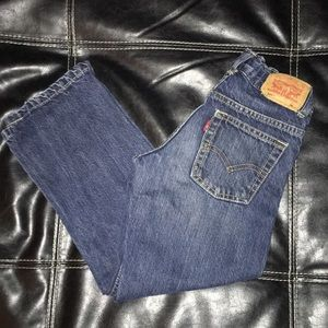 Good Used Condition Boys Levi's Jeans Size 7